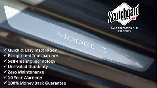 Tesla Model 3 Door Sill Protector Kit   Clear   Set of 2 ...