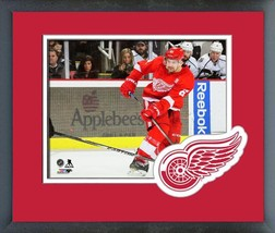 Xavier Ouellet 2016-17 Detroit Red Wings- 11x14 Team Logo Matted/Framed Photo  - $43.55