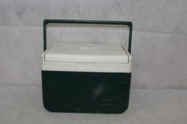 Coleman Cooler Ice Chest Compact Lunchbox Green White Made in USA Model 5205 (1) & Coleman Cooler: 1 customer review and 55 listings Aboutintivar.Com
