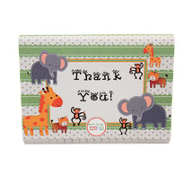 Children's Jungle Zoo Animals Themed THANK YOU Cards Baby Shower Birthda... - $5.89+