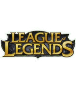 League of Legends shaped vinyl sticker Dota gaming 150mm x 55mm - $3.27