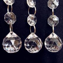 "12PCS 20"" Acrylic Crystal Clear Bead Garland Chandelier Hanging Wedding ... - $10.67"