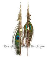 """Beauty for Ashes Eyes to See Tritone 6.5"""" Peacock Feather Rustic Wood Ea... - $35.10"""