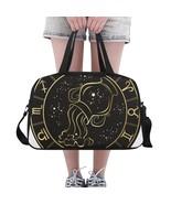 Aquarius Zodiac Beautiful Horoscope Yoga Gym Totes Fitness Handbags - €48,99 EUR