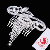 Popular Party Accessories Hair Comb  Rhinestone Pendant Bridal Wedding Ladies  - $6.62