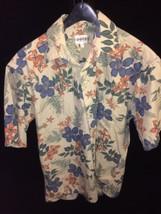Campia Moda Medium Shirt Mens Hawaii Style Shirt Bin#14 - $15.87
