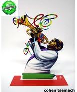 David Gerstein Metal Art - Trumpet Player - Jazz Club - Metal Modern Scu... - $187.00