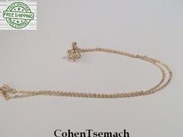 Gold filled 3D MAGEN DAVID STAR OF DAVID MERKABA PENDANT & CHAIN JUDAICA - $29.91