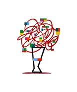 David Gerstein Art Red Bouquet Metal Modern Sculpture - $126.21