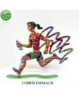 David Gerstein Jog Woman Run Female Metal Art Marathon Jogging Runner Sc... - $139.30