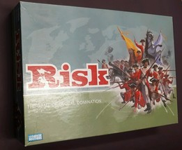 PARKER BROTHERS RISK THE GAME OF GLOBAL DOMINATION BOARD GAME  2003 - $21.29