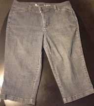 Liz Claiborne Slim Fit Cropped Pants Size 18 B#14 - $13.09