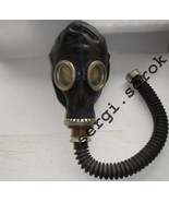 RUSSIAN RUBBER GAS MASK  GP-5 with Connection TUBE, BAG Black Military n... - $8.17+
