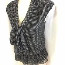 New Max Studio Ladies Size Small Black White Po... - $37.99
