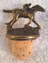 """Blantons Bourbon Whiskey Bottle Stopper letter  """" A """" - $6.95"""