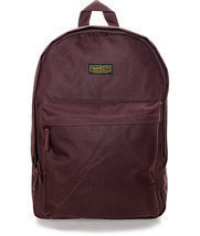 MEN'S GUYS PRIMITIVE HOOMROOM BURGUNDY BACKPACK SCHOOL BAG NEW $55 - $39.99