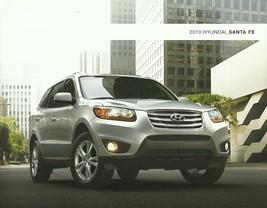 2010 Hyundai SANTA FE sales brochure catalog US 10 GLS SE Limited - $6.00