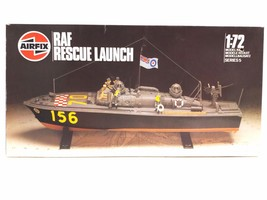 Airfix 1/72 Scale RAF Rescue Launch Series 5 1986 Model Kit - $31.49