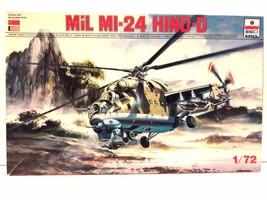 ESCI/ETRL 1/72 Scale Mil MI-24 Hind-D Model Kit No. 9069 - $35.99