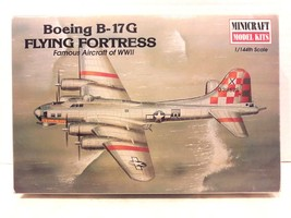 Minicraft Model Kits 1:144th Scale Boeing B-17G Flying Fortress Model Ki... - $26.99