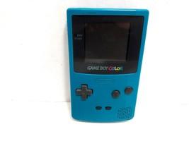 Nintendo Gameboy Color Teal Blue Handheld System - $35.99