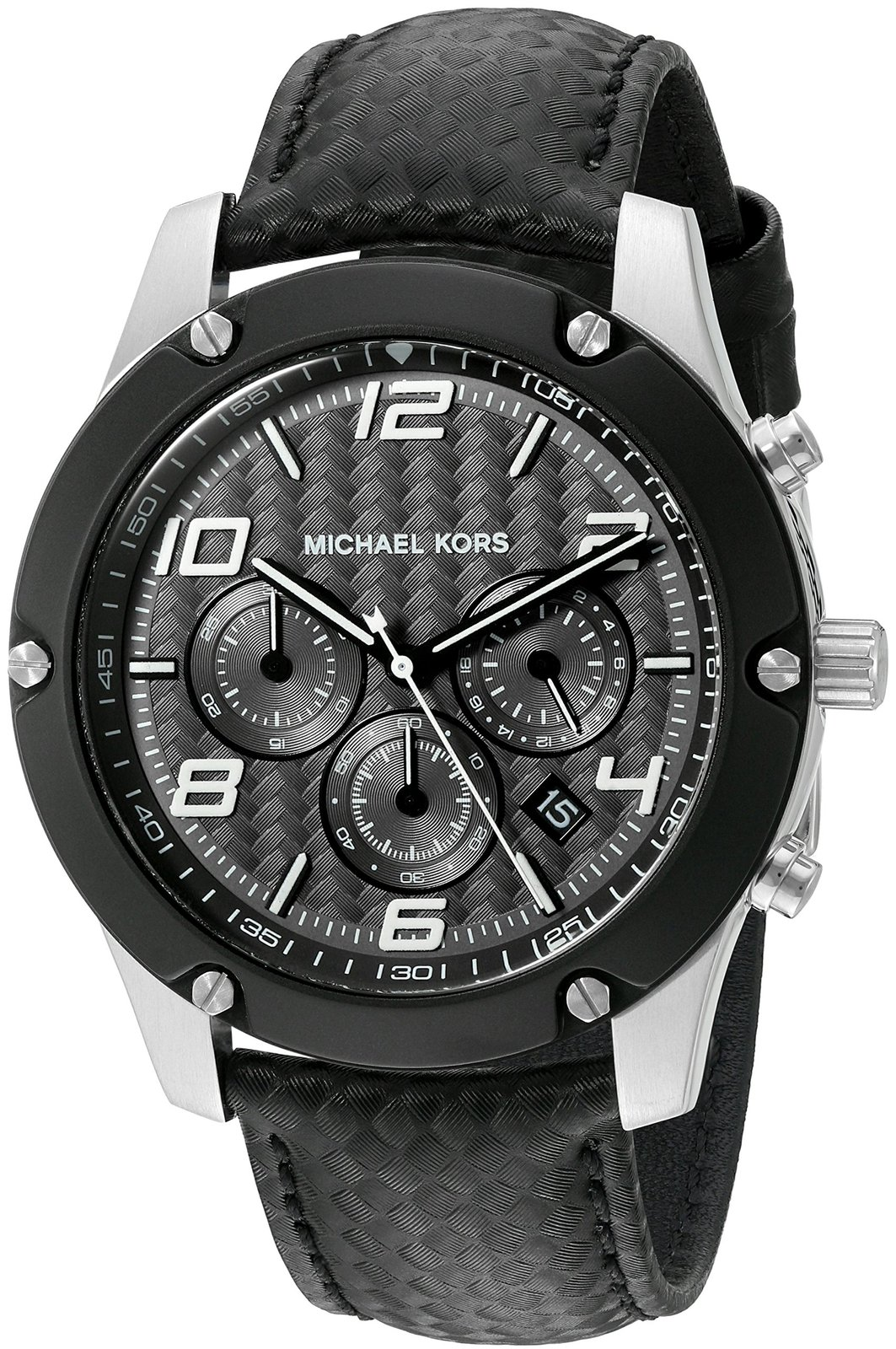 7e0bf798ab58 Michael Kors Men s Caine Silver-Tone Watch and 50 similar items. 918truf8z1l