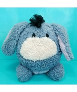 "Disney Parks Round Eeyore Plush Winnie The Pooh Plush Stuffed Animal 8"" ... - $18.80"