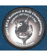 2007 BCA LAS VEGAS 8 BALL POOL CHAMPIONSHIPS PATCH NEW Free Shipping U.S.A. - $14.78