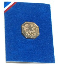 1980 LA OLYMPICS LOS ANGELES COLLECTIBLE PIN GOLD NMT FREE SHIPPING U.S.A. - $8.63