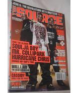 THE SOURCE December 2007 No. 216 Magazine of Hip Hop Music Culture & Pol... - $14.93