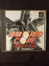 Armored Core Master of Arena Playstation 1 PS1 PSONE 1999 Japanese Import - $9.69