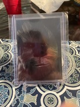 Chewbacca Foil Insert Star Wars Card Fc-4 - $39.20