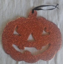 Halloween Hanging Jack-O-Lantern Decoration - Glitters - $6.92