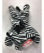 Ty Beanie Baby 1995 Ziggy the Zebra with ERRORS VERY RARE - $14.84