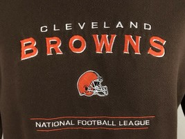 Cleveland Browns NFL Brown Sweatshirt Lee M Medium - $21.09