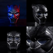 2018 Black Panther Mask T'Challa Cosplay Helmet Mask Prop NEW Version Style - $44.69+