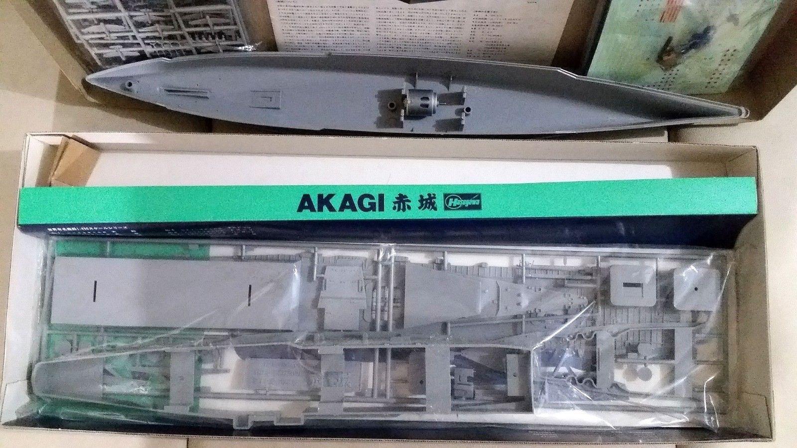 Hasegawa 1/450 IJN Japanese Aircraft Carrier and 12 similar