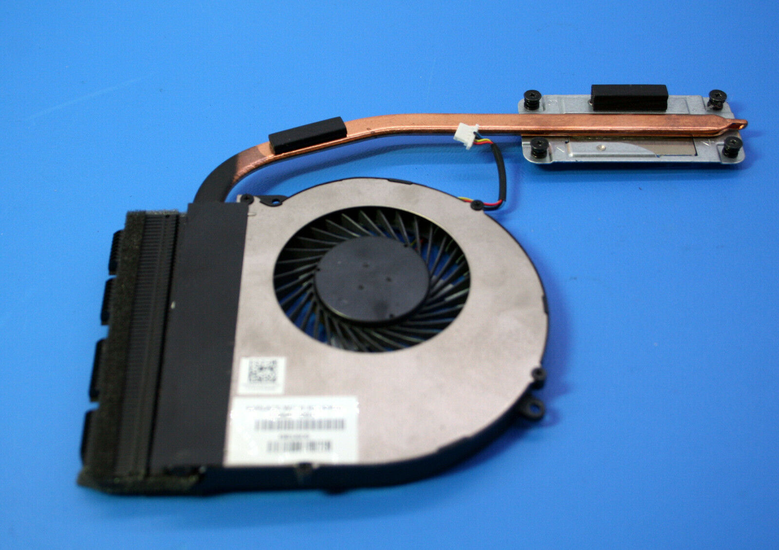 "Primary image for HP 17.3"" 17-x116dx Genuine Laptop CPU Cooling Fan w/Heatsink 856681-001"