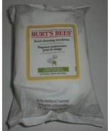 Burt's Bees Face Cleansing Towelettes Wipe Cotton Extract Sensitive Skin... - $21.46