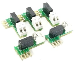 LOT OF 5 EUROTHERM AH135713 RELAY BOARDS 135713 ISS. 5 AC135713 REV. 5 U002