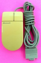 VINTAGE GENUINE MICROSOFT SERIAL PS/2 PN 28898 COMPUTER MOUSE 2 BUTTON -... - $17.81