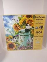 Sunsout Sunflower Garden 1000 Piece Puzzle 20 X 27 Art by Dona Gelsinger New - $17.77