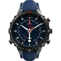 Timex Allied 45mm Tide Temp Compass - Gunmetal  Blue [TW2T76300JV] - $187.40