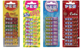Pez Fruit, Fizzy, Sour, Cola Candy Refills For Dispenser Retro Hard Sweets - $13.98+