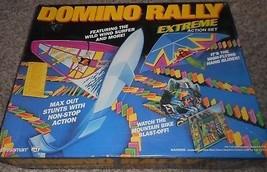 Vintage 1994 Pressman Dominó Rally Extremo Acción Set 100% Completo en Caja - $30.73