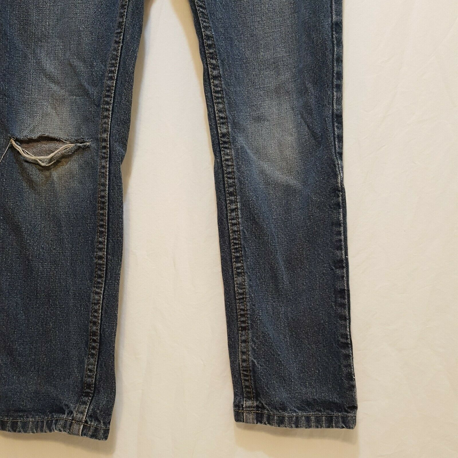 Blue Jeans Denim Boys Size 8 Slim Straight Falls Creek image 10