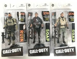 (3) McFarlane Toys - Call of Duty Black Ops 4 (2) Soap & (1) Ruin - NEW ... - $39.40