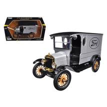 1925 Ford Model T Paddy Wagon Silver 1/24 Diecast Model Car by Motormax ... - $34.69
