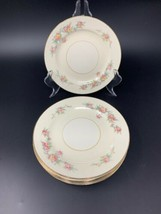 """8 Old Vintage Countess by Homer Laughlin 6-1/4"""" Bread & Butter Plate circa 1940s - $37.95"""