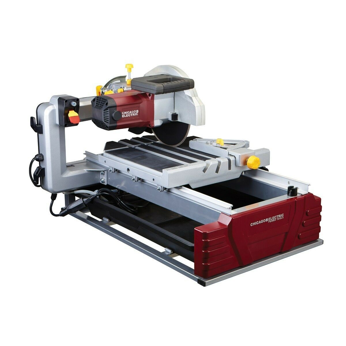 """2 1/2 Horsepower 10"""" Industrial Tile And Brick Saw 2.5 HP - $327.24"""